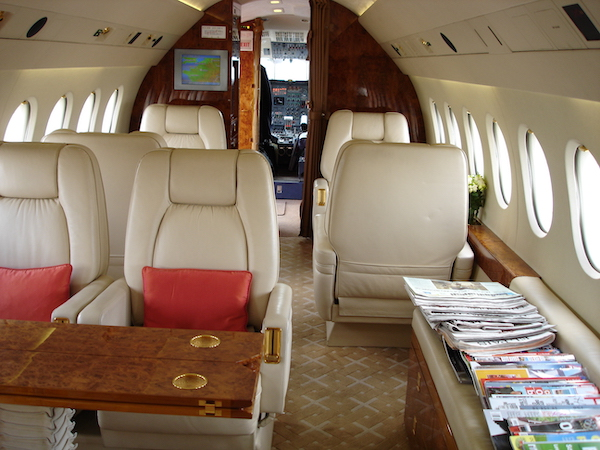 Private Jets Charter flights : business aviation at Paris Le Bourget airport, June 2010