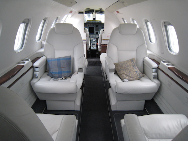 Interior view of the Private Jet Piaggio p180: Paris le Bourget Air Show n°52, June 2017