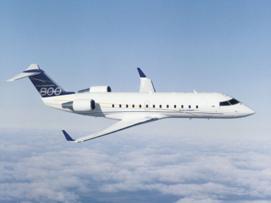 Image -bombardier-challenger-850-se-flying of Bombardier Challenger 850 SE available for rent of flights with a Business Jet
