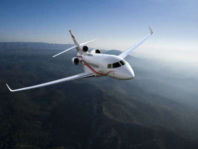 Image dassault-falcon-7x-flying of Dassault Falcon 7X available for rent of flights with a Business Jet