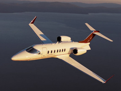 Image bombardier-learjet-40-flying of Bombardier LearJet 40 available for rent of flights with a Air taxi