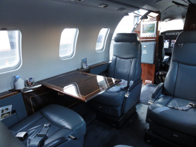Image bombardier-learjet-45-interior of Bombardier LearJet 45 available for rent of flights with a Private Jet