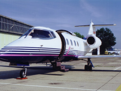 Image bombardier-learjet-55-outside of Bombardier LearJet 55 available for rent of flights with a Private Aircraft