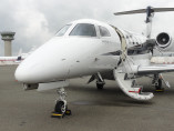Embraer Phenom 300, Private Jet, used by Private Jet Charter service from AB Corporate Aviation, showing embraer-phenom-300-welcome-on-board.