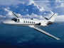 Cessna Citation II Bravo, Air Taxi, used by Private Jet Charter service from AB Corporate Aviation, showing cessna-citation-ii-bravo-flying.