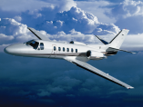 Image cessna-citation-ii-bravo-flying of Cessna Citation II Bravo available for rent of flights with a Air taxi