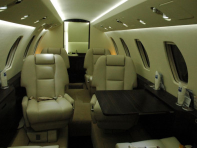 Cessna Citation III, Private Aircraft, used by Private Jet Charter service from AB Corporate Aviation, showing cessna-citation-3-inside.
