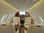 Cessna CitationJet CJ2, Private Jet, used by Private Jet Charter service from AB Corporate Aviation, showing cessna-citation-jet-cj2-welcome-on-board-interior.