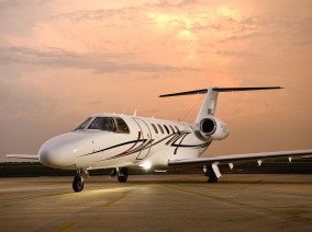 Image cessna-citation-jet-cj4-welcome-on-board-outside of Cessna CitationJet CJ4 available for rent of flights with a Business Jet