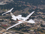 Cessna Citation Mustang, Air Taxi, used by Private Jet Charter service from AB Corporate Aviation, showing cessna-citation-mustang-flying.