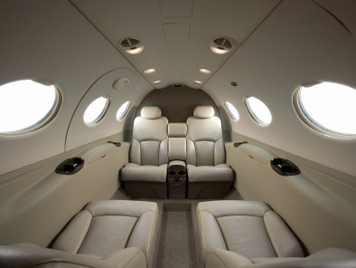Cessna Citation Mustang, Air Taxi, used by Private Jet Charter service from AB Corporate Aviation, showing cessna-citation-mustang-interior.