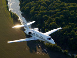Image cessna-citation-sovereign-flying of Cessna Citation Sovereign available for rent of flights with a Private Aircraft