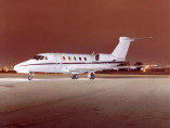 Cessna Citation VII, Business Jet, used by Private Jet Charter service from AB Corporate Aviation, showing cessna-citation-7-outside.