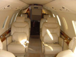 Cessna Citation VII, Business Jet, used by Private Jet Charter service from AB Corporate Aviation, showing cessna-citation-7-inside.