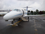 Cessna Citation VII, Business Jet, used by Private Jet Charter service from AB Corporate Aviation, showing cessna-citation-7-door-open.