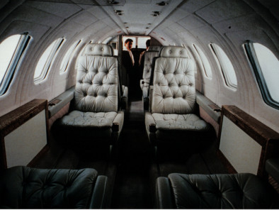 Cessna Citation V Ultra, Air taxi, used by Private Jet Charter service from AB Corporate Aviation, showing cessna-citation-5-ultra-interior.