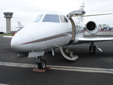 Dassault Falcon 10, Air Taxi, used by Private Jet Charter service from AB Corporate Aviation, showing dassault-falcon-10-outside.