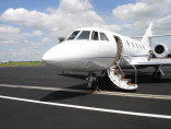 Image dassault-falcon-20-outside of Dassault Falcon 20 available for rent of flights with a Business Jet