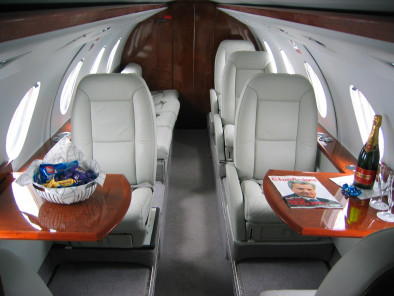 Image dassault-falcon-20-inside of Dassault Falcon 20 available for rent of flights with a Business Jet