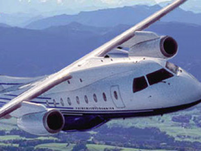 Image dornier-328-jet-flying of Dornier 328 Jet available for rent of flights with a Business Aircraft