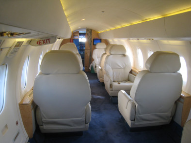 Image dornier-328-jet-executive-welcome-on-board-interior of Dornier 328 Jet executive available for rent of flights with a Business Aircraft
