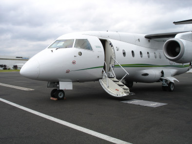 Image dornier-328-jet-executive-welcome-on-board-2 of Dornier 328 Jet executive available for rent of flights with a Business Aircraft