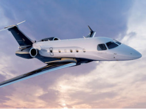 Image embraer-legacy-450-flying of Embraer Legacy 450 available for rent of flights with a Business Jet