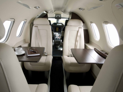Image embraer-phenom-100-seats of Embraer Phenom 100 available for rent of flights with a Air taxi
