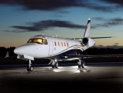 Gulfstream 100, Air Taxi, used by Private Jet Charter service from AB Corporate Aviation, showing gulfstream-100-exterior.