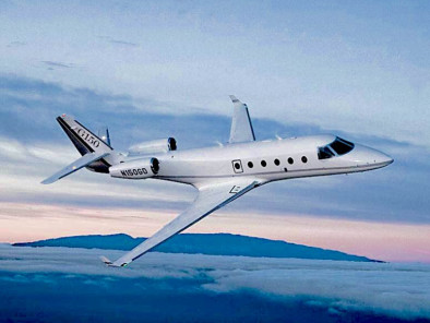 Image gulfstream-150-flying of Gulfstream 150 available for rent of flights with a Business Jet