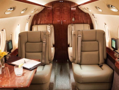 Image gulfstream-150-interior of Gulfstream 150 available for rent of flights with a Business Jet