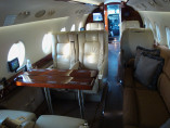 Gulfstream 200, Business Aircraft, used by Private Jet Charter service from AB Corporate Aviation, showing gulfstream-g200-interior.