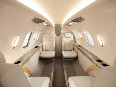 Image hondajet-interior of HondaJet available for rent of flights with a Air taxi