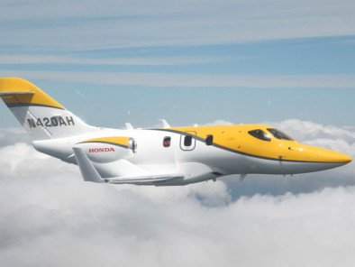 Image hondajet-flying of HondaJet available for rent of flights with a Air taxi