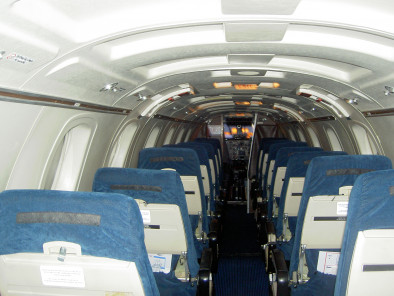 Image beechcraft-1900-seats of Beechcraft 1900 Airliner available for rent of flights with a Business Aircraft