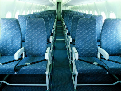 Image bombardier-dash-8-100-inside of Bombardier Dash 8-300 available for rent of flights with a Business Aircraft