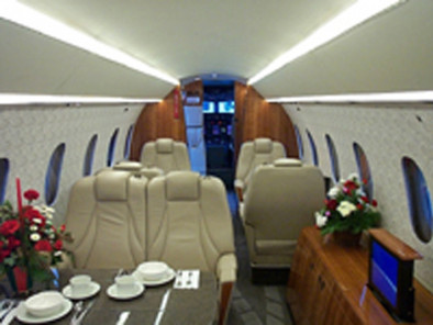 Image dornier-328-tp-executive-inside of Dornier 328 TP executive available for rent of flights with a Business Aircraft