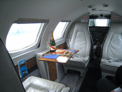 Image fairchild-merlin-3-inside of Fairchild Merlin III available for rent of flights with a Air taxi