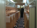 Fokker 50, Airliner, used by Private Jet Charter service from AB Corporate Aviation, showing fokker-50-interior.