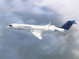 Image crj-regional-flying-sky of Bombardier Regional Jet CRJ available for rent of flights with a Airliner