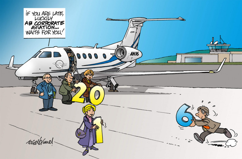 Happy new year 2016, Private Aircraft
