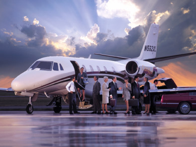 Image citation-excel-people of Cessna Citation Excel available for rent of flights with a Private Jet