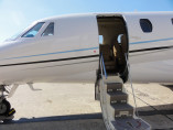 Image citation-excel-doors-open of Cessna Citation Excel available for rent of flights with a Private Jet