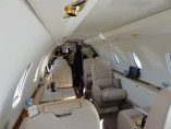 Image citation-excel-interior-seat of Cessna Citation Excel available for rent of flights with a Private Jet