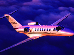 Image citation-jet-cj3-flying of Cessna CitationJet CJ3 available for rent of flights with a Private Jet