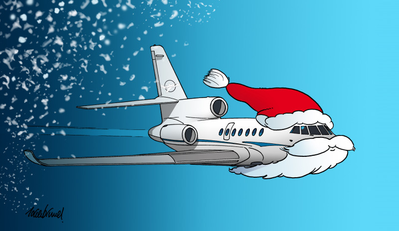 Christmas 2019, Private Jet