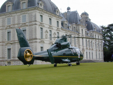 Image eurocopter-dauphin-cheverny of Airbus Helicopter Dolphin SA 365N available for rent of flights with a Private Helicopter