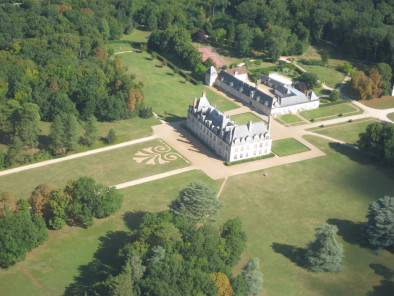 Image of the VIP excursion Loire valley castles: Cheverny and Beauregard showing loire-valley-castle-beauregard, flying with a Private Helicopter thanks to AB Corporate Aviation