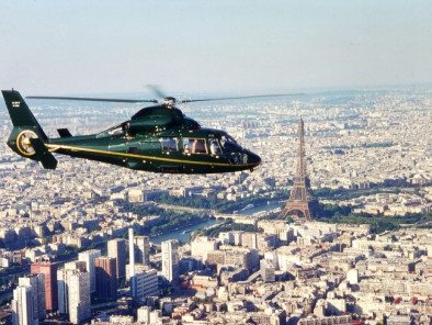 VIP excursion Paris sightseeing tour: castle of Ferrieres by a Private Helicopter, thanks to Private Jet Charter service from AB Corporate Aviation, showing paris-vip-helicopter-sightseeing-tour-dolphin-flying-paris.