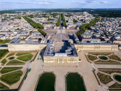 VIP excursion Paris sightseeing tour: castle of Versailles by a Private Helicopter, thanks to Private Jet Charter service from AB Corporate Aviation, showing paris-sightseeing-tour-castle-of-versailles.
